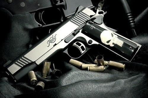 Punisher guns style