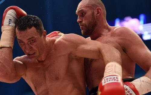 Победа Тайсона Фьюри над Владимиром Кличко