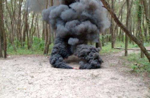 сделать дымовую шашку