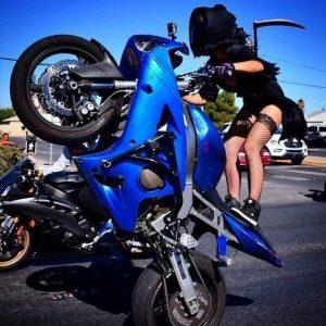 девушки на мотоциклах эротика